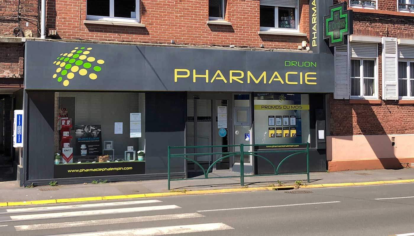 Pharmacie-Druon-Phalempin-exterieur-officine
