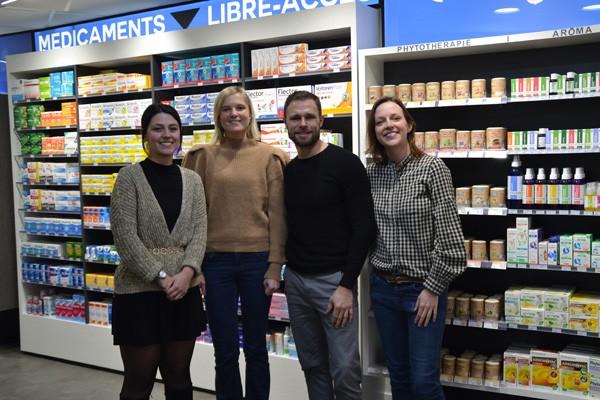equipe pharmacie druon